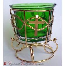 Лампада настольная со стаканом