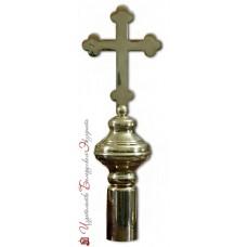 Наконечник фигурный с крестом